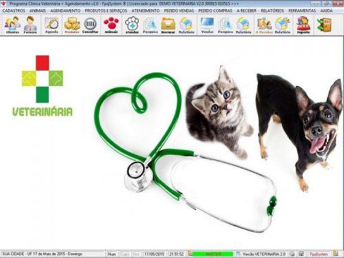Programa para Clinica Veterinária com e Agendamento e Vendas v2.0 146483