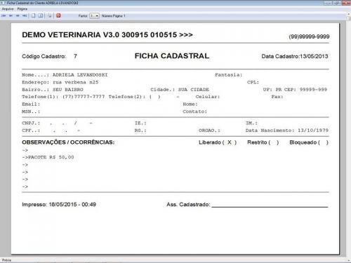 Programa para Clinica Veterinária com Agendamento, Vendas e Financeiro v3.0 146499