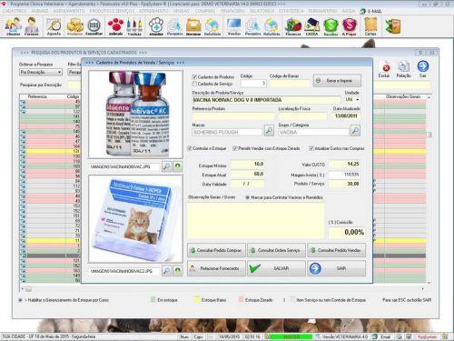 Programa para Clinica Veterinária com Agendamento, Vendas e Financeiro v4.0 Plus 146522