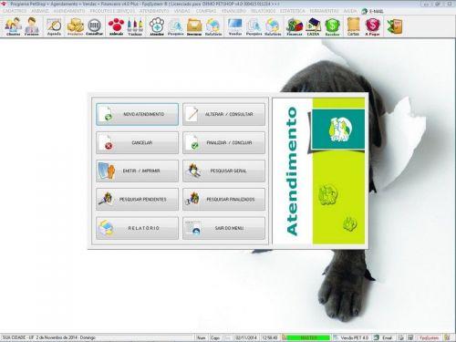 Programa para PetShop e Agropecuária com Agendamento, Vendas e Financeiro v4.0 Plus 151124