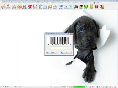 Programa para PetShop e Agropecuária com Agendamento, Vendas e Financeiro v4.0 Plus 151126