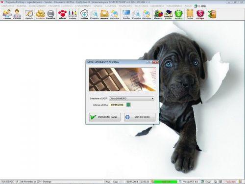 Programa para PetShop e Agropecuária com Agendamento, Vendas e Financeiro v4.0 Plus 151134