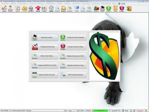 Programa para PetShop e Agropecuária com Agendamento, Vendas e Financeiro v4.0 Plus 151135