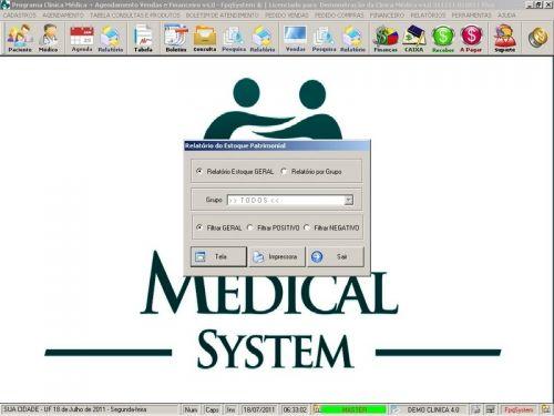 Programa Consultório e Clinica Médica com Agendamento, Vendas e Financeiro v4.0 151736