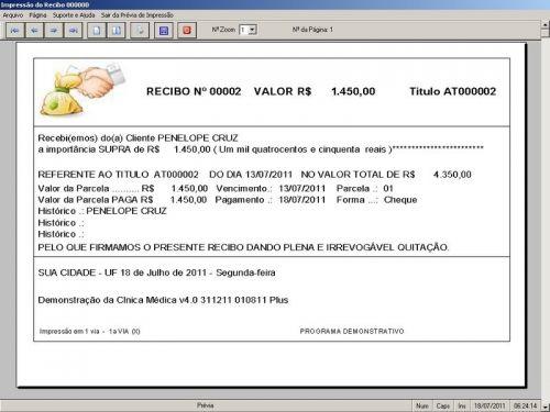 Programa Consultório e Clinica Médica com Agendamento, Vendas e Financeiro v4.0 151747