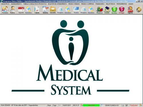 Programa Consultório e Clinica Médica com Agendamento, Vendas e Financeiro v4.0 151748