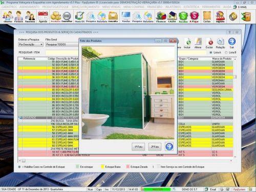 Programa OS Vidraçaria e Esquadria com Vendas, Financeiro e Agendamento v5.7 Plus 152210