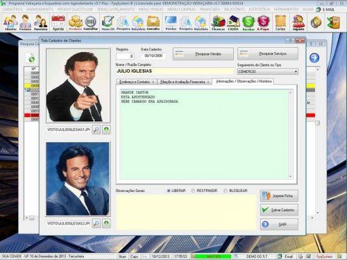 Programa OS Vidraçaria e Esquadria com Vendas, Financeiro e Agendamento v5.7 Plus 152212