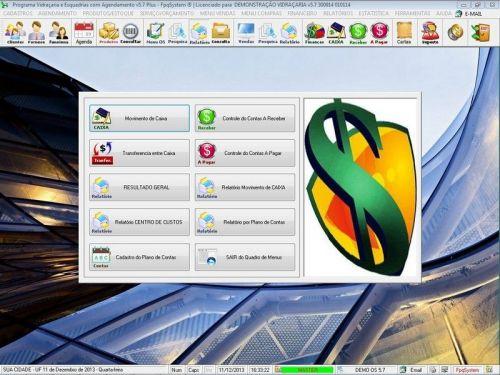 Programa OS Vidraçaria e Esquadria com Vendas, Financeiro e Agendamento v5.7 Plus 152217