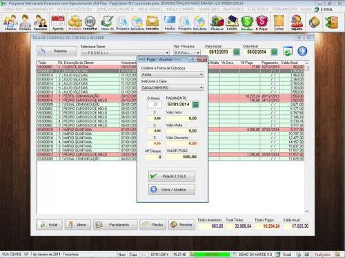 Programa Ordem de Serviço Marcenaria com Vendas e Financeiro e Agendamento v5.9 - FpqSystem 152306