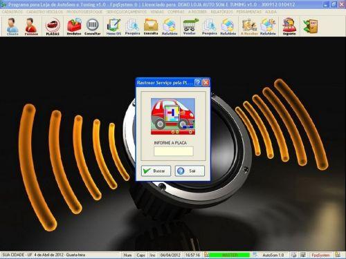 Programa para AutoSom e Tunning com Serviços v1.0 - FpqSystem 152314