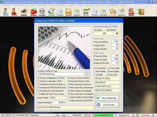 Programa para AutoSom e Tunning com Serviços v1.0 - FpqSystem 152322