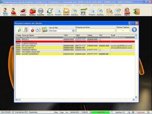 Programa para AutoSom e Tunning com Serviços v1.0 - FpqSystem 152323