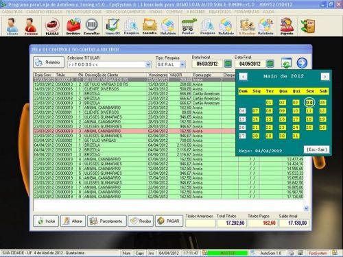 Programa para AutoSom e Tunning com Serviços v1.0 - FpqSystem 152327