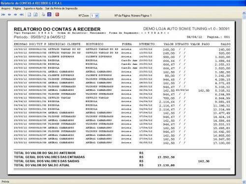 Programa para AutoSom e Tunning com Serviços v1.0 - FpqSystem 152330