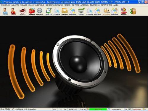 Programa para AutoSom e Tunning com Serviços v1.0 - FpqSystem 152331