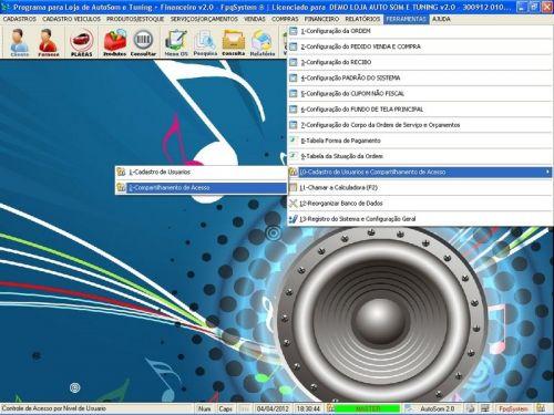 Programa para AutoSom e Tunning + Vendas e Financeiro v2.0 - Fpqsystem 152345