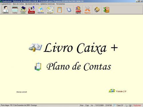 Programa Livro Caixa + Plano de Contas v2.0 - FpqSystem 152469
