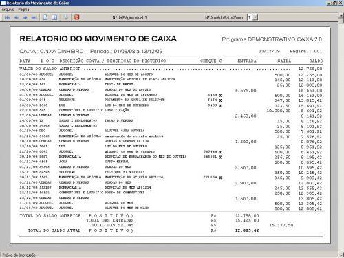 Programa Livro Caixa + Plano de Contas v2.0 - FpqSystem 152471