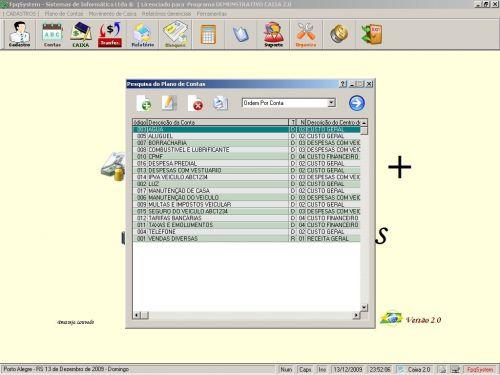 Programa Livro Caixa + Plano de Contas v2.0 - FpqSystem 152472