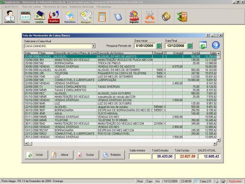 Programa Livro Caixa + Plano de Contas v2.0 - FpqSystem 152473