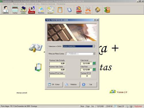 Programa Livro Caixa + Plano de Contas v2.0 - FpqSystem 152475