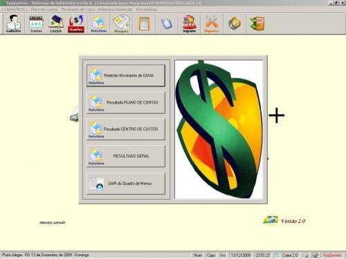 Programa Livro Caixa + Plano de Contas v2.0 - FpqSystem 152476