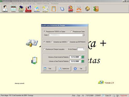 Programa Livro Caixa + Plano de Contas v2.0 - FpqSystem 152477