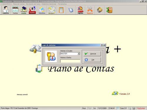 Programa Livro Caixa + Plano de Contas v2.0 - FpqSystem 152479