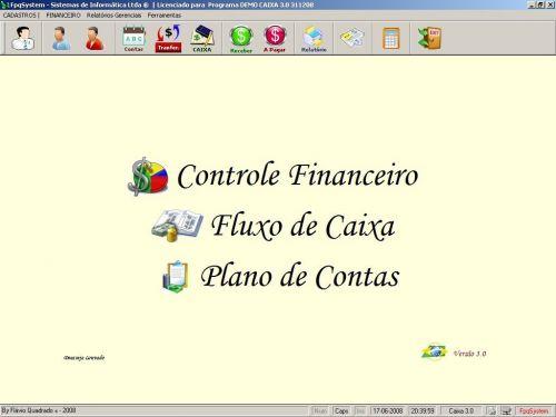 Programa Livro Caixa Financeiro v3.0 - Fpqsystem 152482