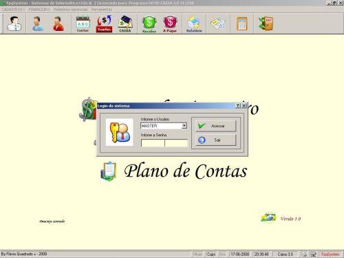Programa Livro Caixa Financeiro v3.0 - Fpqsystem 152483