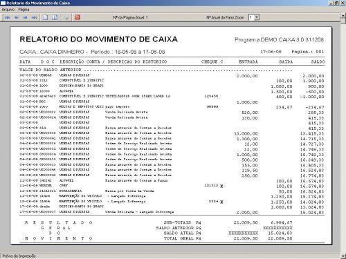 Programa Livro Caixa Financeiro v3.0 - Fpqsystem 152486