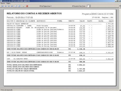 Programa Livro Caixa Financeiro v3.0 - Fpqsystem 152487