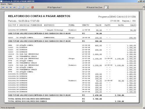 Programa Livro Caixa Financeiro v3.0 - Fpqsystem 152488