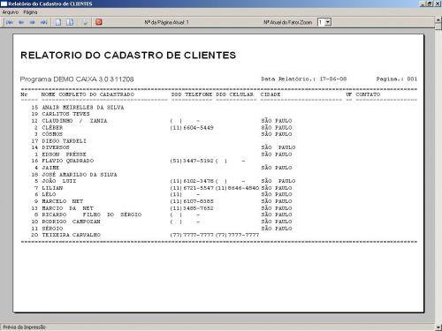 Programa Livro Caixa Financeiro v3.0 - Fpqsystem 152489