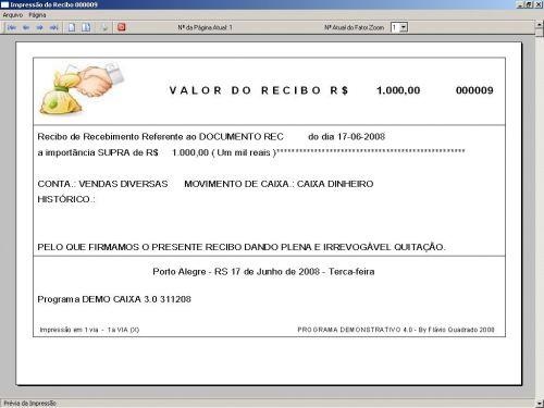 Programa Livro Caixa Financeiro v3.0 - Fpqsystem 152492