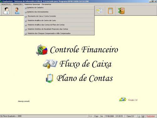 Programa Livro Caixa Financeiro v3.0 - Fpqsystem 152500
