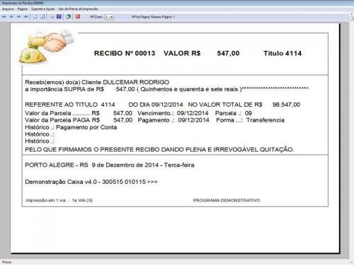 Programa Livro Caixa Financeiro Completo v4.0 Plus - FpqSystem 152516