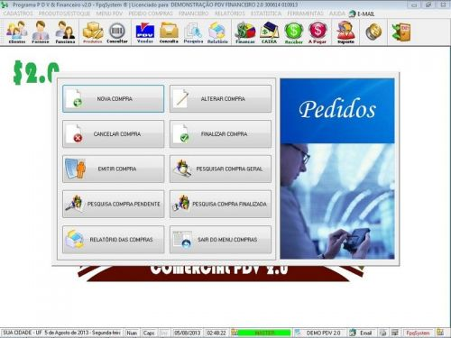 rograma PDV Frente de Caixa, Estoque e Financeiro v2.0 - Plus 152547