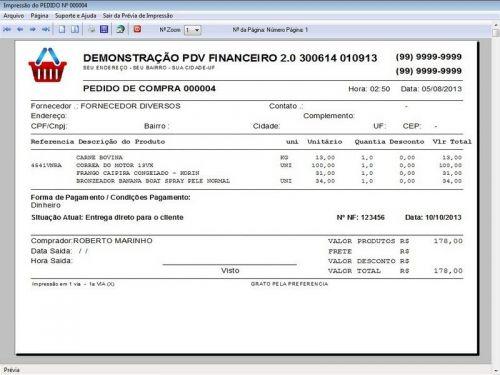 rograma PDV Frente de Caixa, Estoque e Financeiro v2.0 - Plus 152552