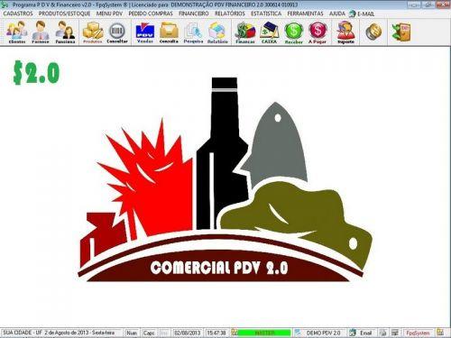 rograma PDV Frente de Caixa, Estoque e Financeiro v2.0 - Plus 152561
