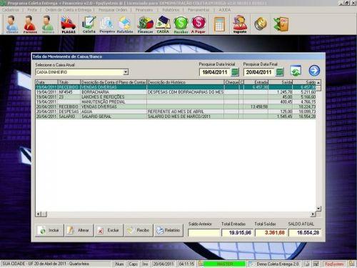 Programa Coleta e Entrega + Financeiro v2.0 FpqSystem 152575