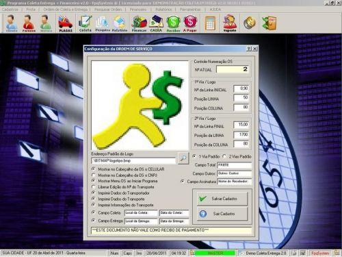 Programa Coleta e Entrega + Financeiro v2.0 FpqSystem 152579