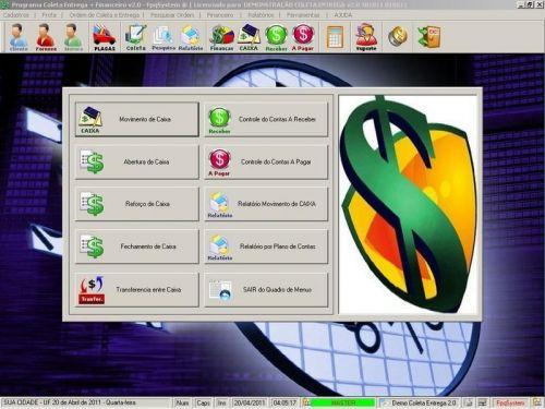 Programa Coleta e Entrega + Financeiro v2.0 FpqSystem 152581