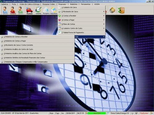 Programa Coleta e Entrega + Financeiro v2.0 FpqSystem 152583