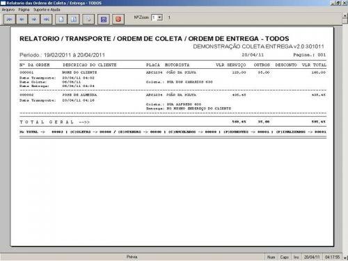 Programa Coleta e Entrega + Financeiro v2.0 FpqSystem 152589