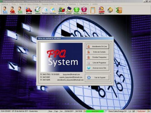 Programa Coleta e Entrega + Financeiro v2.0 FpqSystem 152591