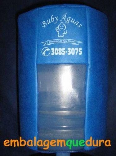 Capas de TNT com Visor para Bombonas ou Galão de Água Mineral - 10 ou 20 litros 177836