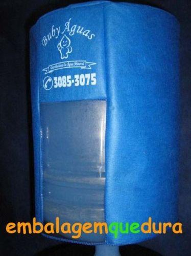 Capas de TNT com Visor para Bombonas ou Galão de Água Mineral - 10 ou 20 litros 177837