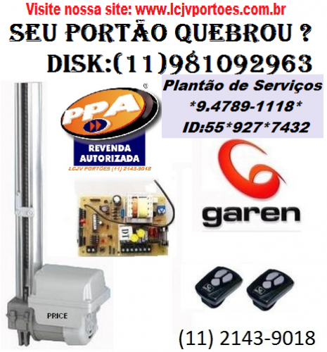 Conserto de Portão Automático PPA 182462